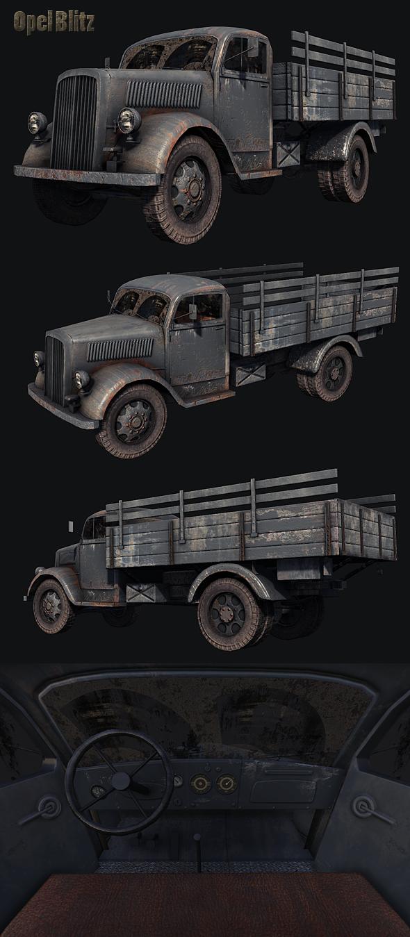 Opel Blitz Truck