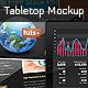 Creative Tabletop Mockup - GraphicRiver Item for Sale