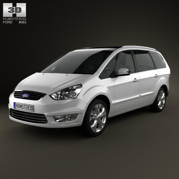 Ford Galaxy (Mk3) 2012 - 3DOcean Item for Sale
