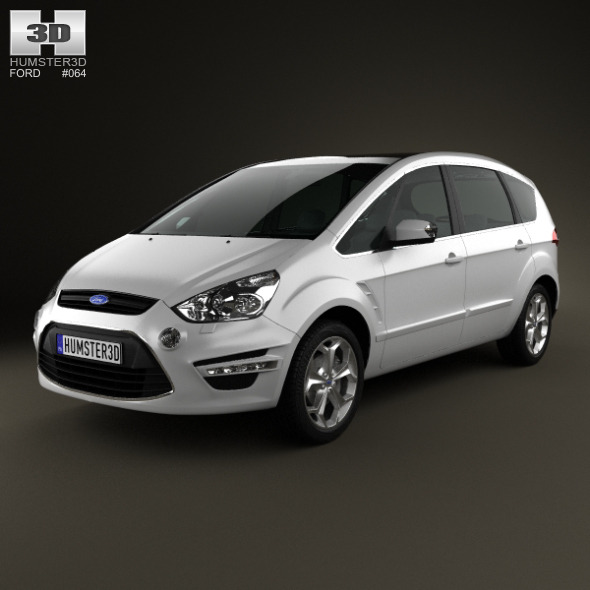 Ford S-Max 2012 - 3DOcean Item for Sale
