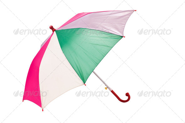 color umbrella - Stock Photo - Images