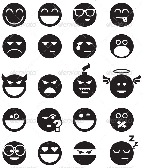 Black Smiles - Characters Icons