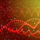 Loopable Animated DNA background - VideoHive Item for Sale