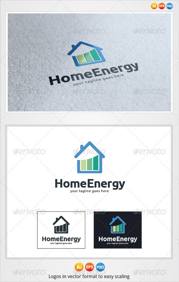 Home Energy Logo - Buildings Logo Templates