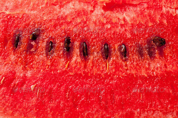 the detail of watermelon - Stock Photo - Images