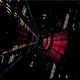 Dark Lights Space Tunnel - VideoHive Item for Sale