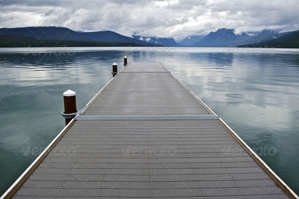 Lake McDonald Montana - Stock Photo - Images