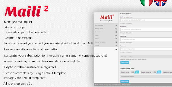 Maili 2 - Newsletter System  - CodeCanyon Item for Sale