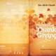 The Value of Thanksgiving Church Bulletin Template - GraphicRiver Item for Sale