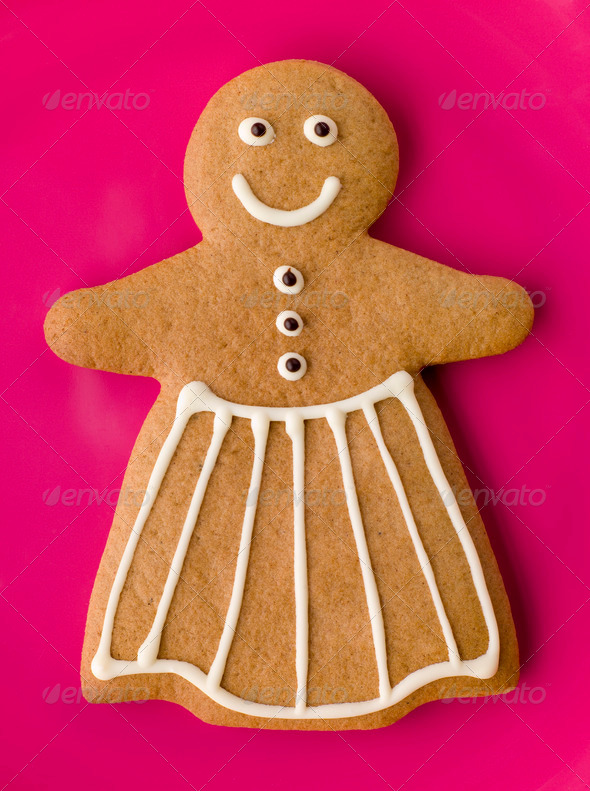 Gingerbread Woman - Stock Photo - Images
