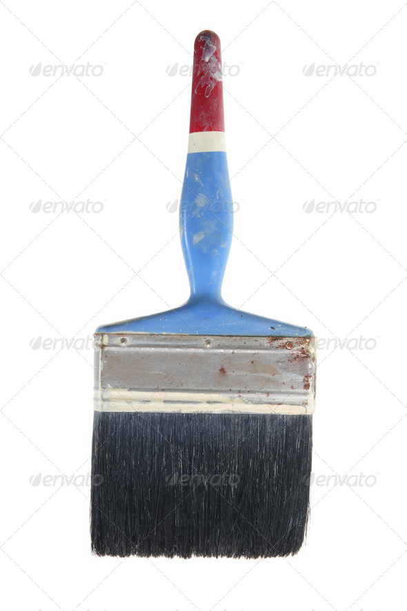Old Paint Brush - Stock Photo - Images
