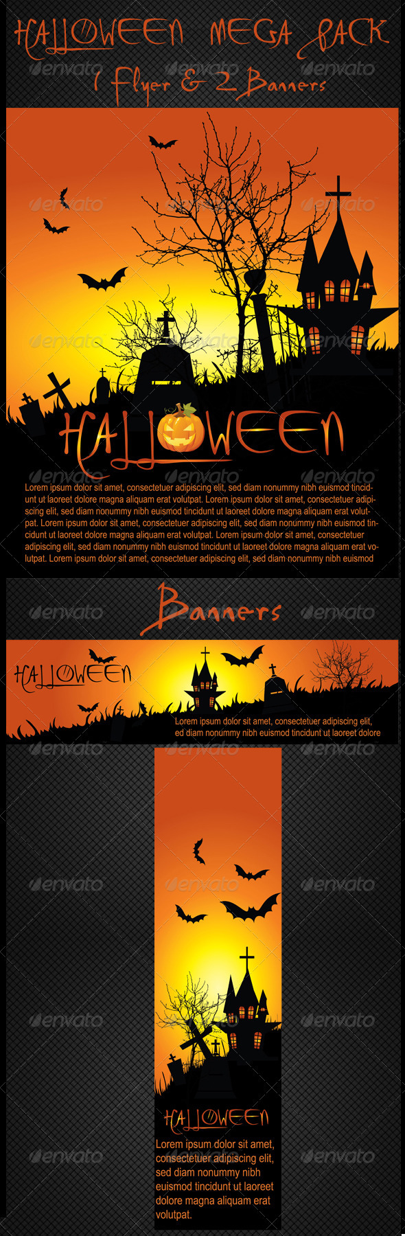 Halloween Flyer & Banners - Halloween Seasons/Holidays
