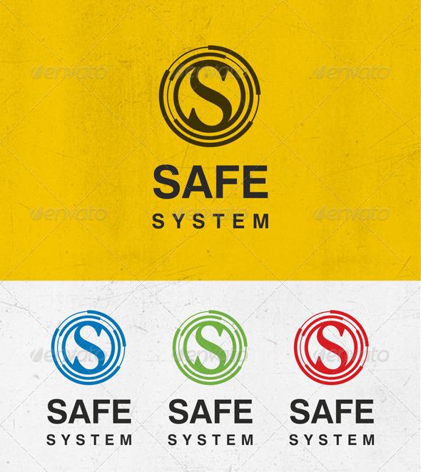 Safe System Logo - Letters Logo Templates