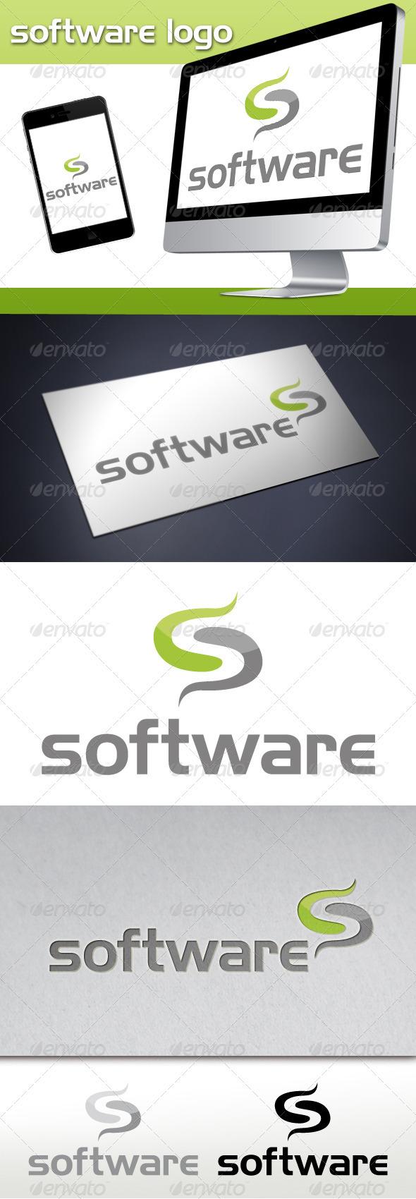 Software Tech Letter S Logo - Letters Logo Templates