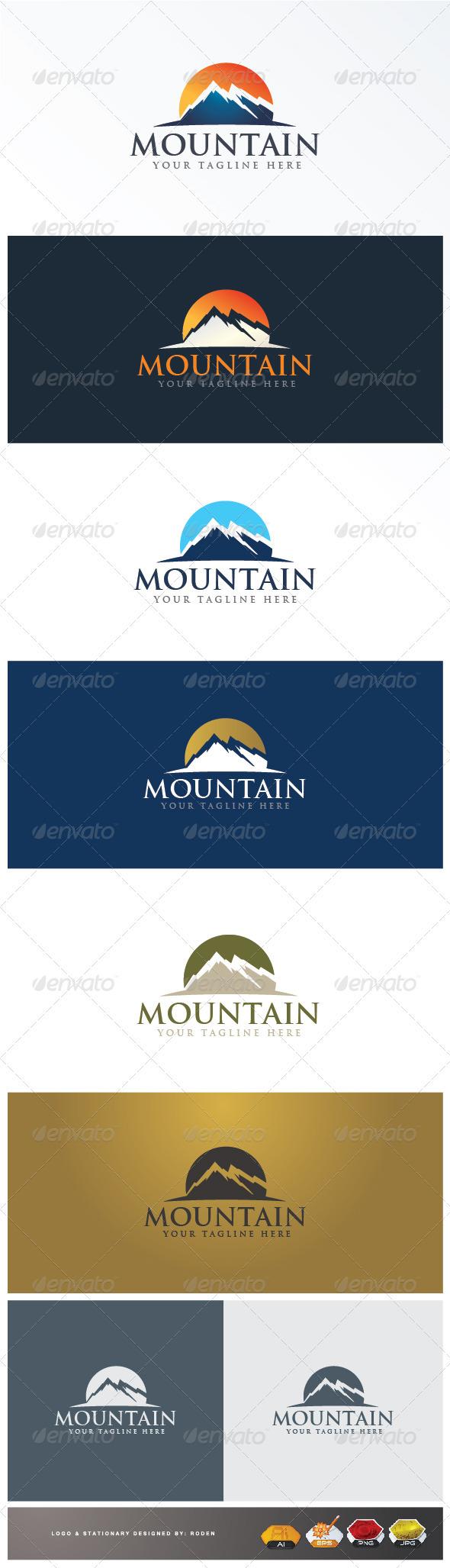 mountain logo - Logo Templates