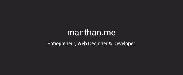 Manthan.me