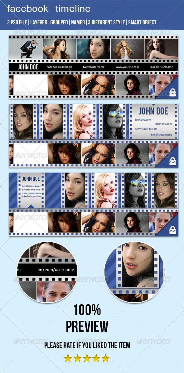 Film Style FB Timeline Cover Image - Facebook Timeline Covers Social Media