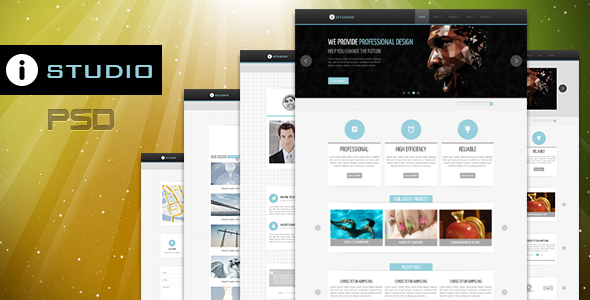 IStudio-PSD Template