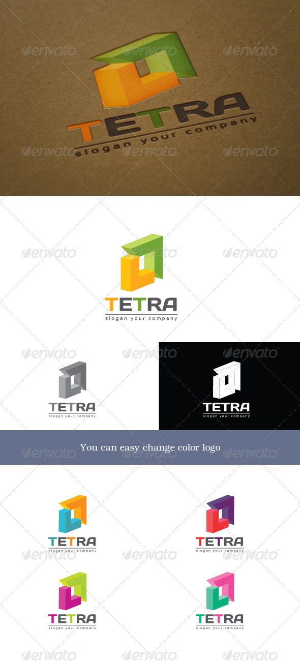 Tetra - Objects Logo Templates