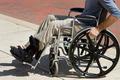 Injured Man Wheelchair - PhotoDune Item for Sale