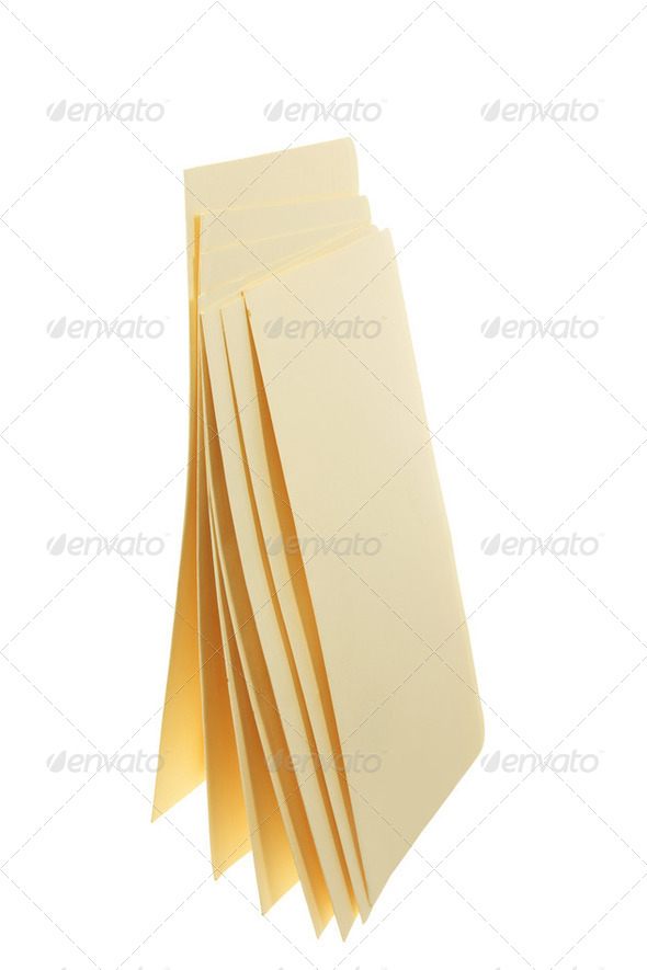 Manila Folders - Stock Photo - Images