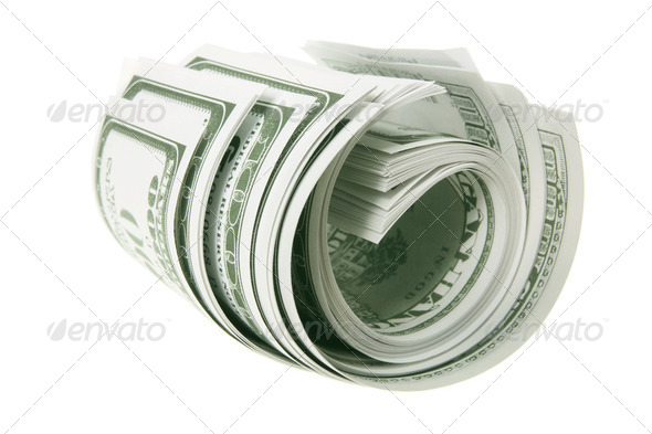 Roll of Banknotes - Stock Photo - Images