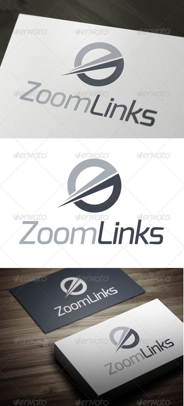 Zoom Links - Abstract Logo Templates