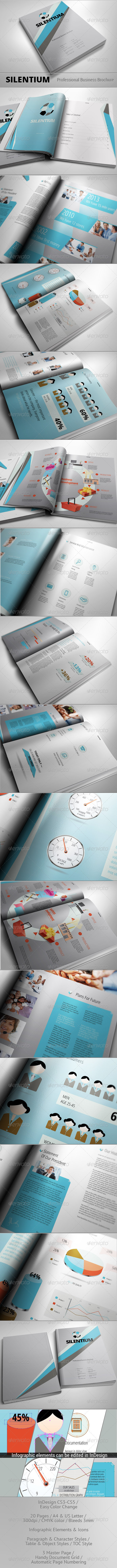 SILENTIUM - Modern Business Brochure - Corporate Brochures