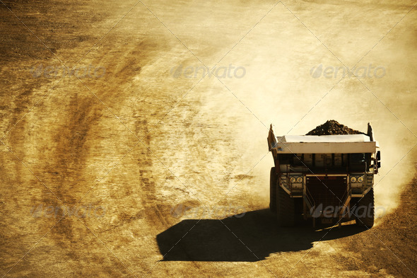 Dump Truck - Stock Photo - Images