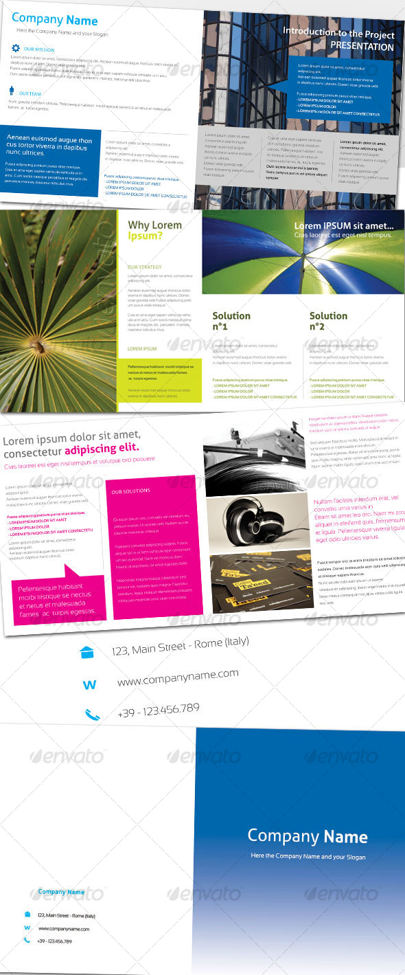 Generic Brochure 01 (8 pag.) - Corporate Brochures