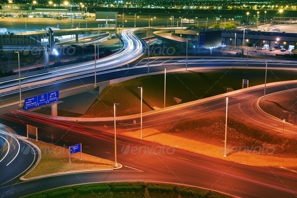 Vegas Airport Traffic - Stock Photo - Images