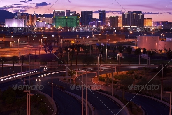 Vegas Illumination - Stock Photo - Images
