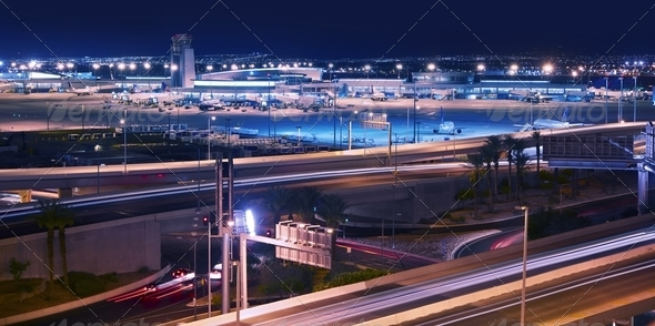 Vegas Transportation System - Stock Photo - Images