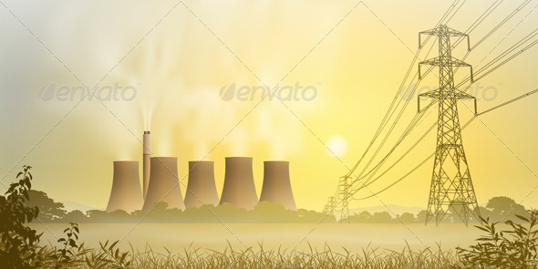 Electricity Plant - Industries Business