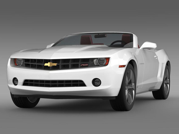 Chevrolet Camaro convertible - 3DOcean Item for Sale