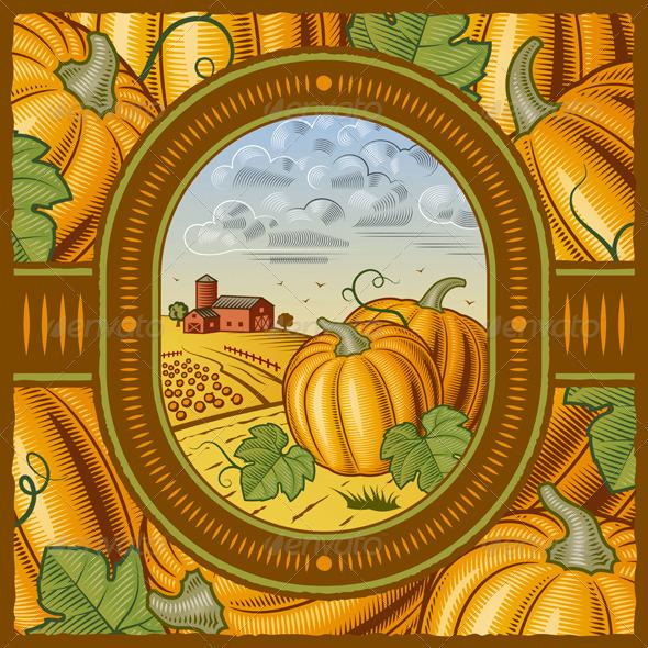 Pumpkin Harvest - Characters Vectors
