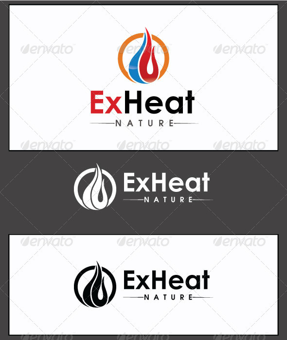 ExHeat - Logo Template - Nature Logo Templates