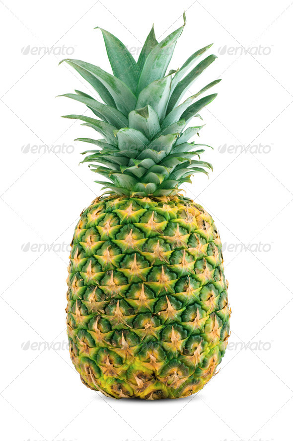 Ripe juicy pineapple - Stock Photo - Images