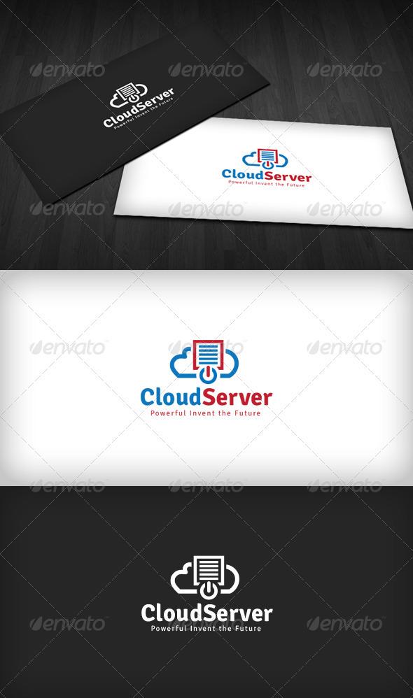 Cloud Server Logo - Symbols Logo Templates