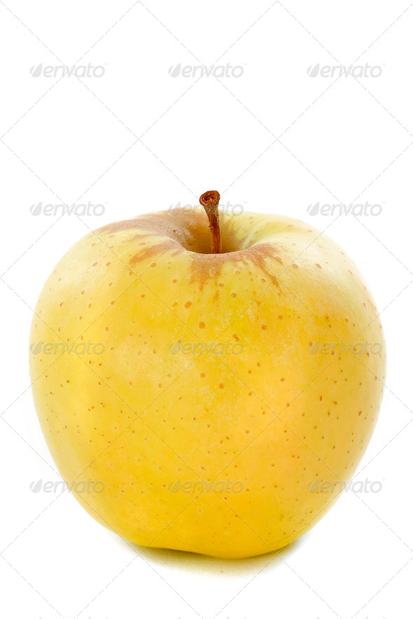 golden apple - Stock Photo - Images