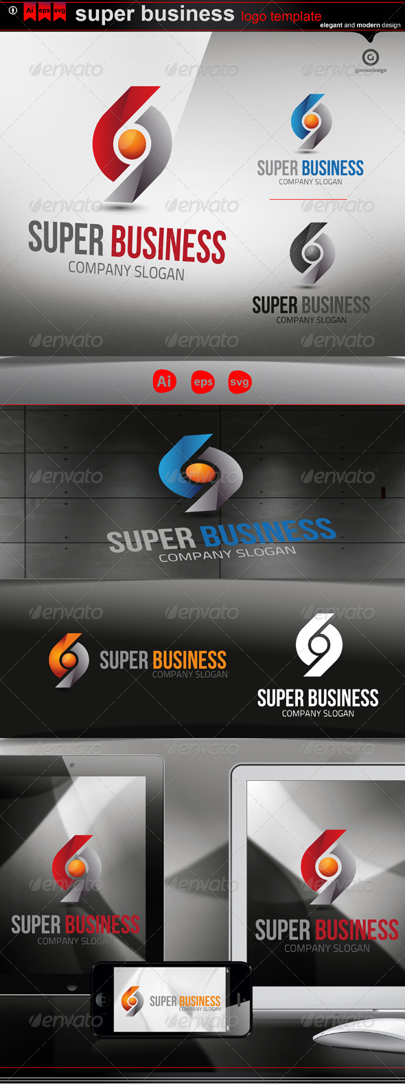 Super Business - Logo Templates