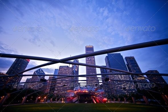 Millennium Place - Stock Photo - Images