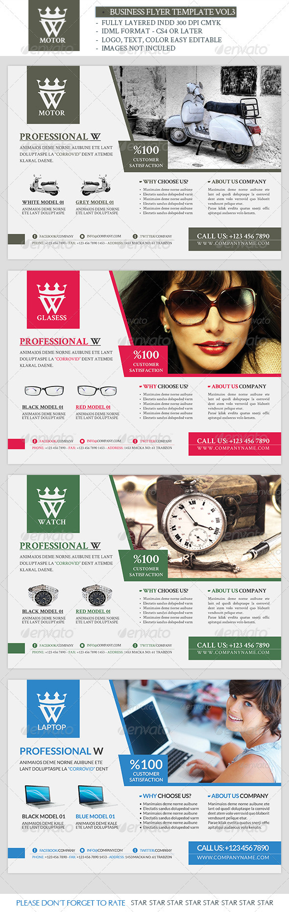 Business Template Vol3 - Commerce Flyers