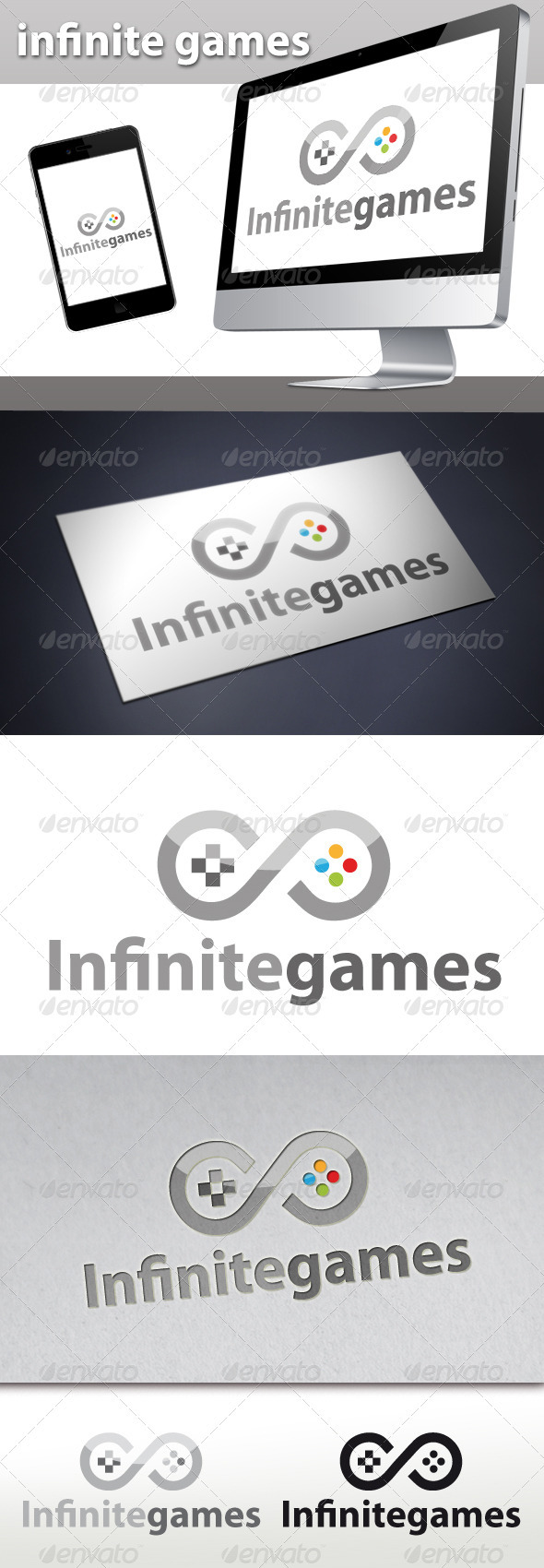 Infinite Games Logo - Objects Logo Templates