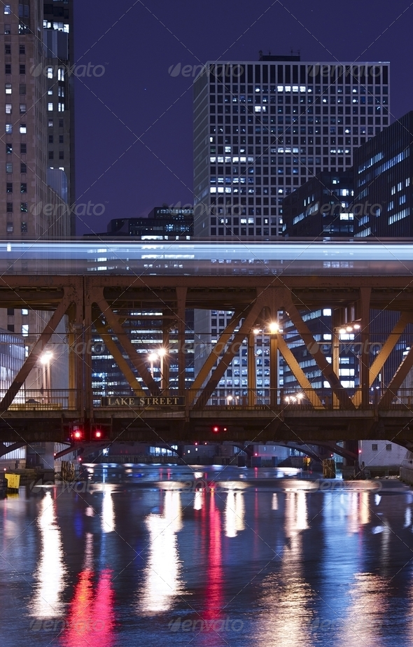 Chicago River - Stock Photo - Images