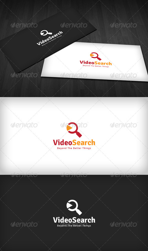 Video Search Logo - Symbols Logo Templates