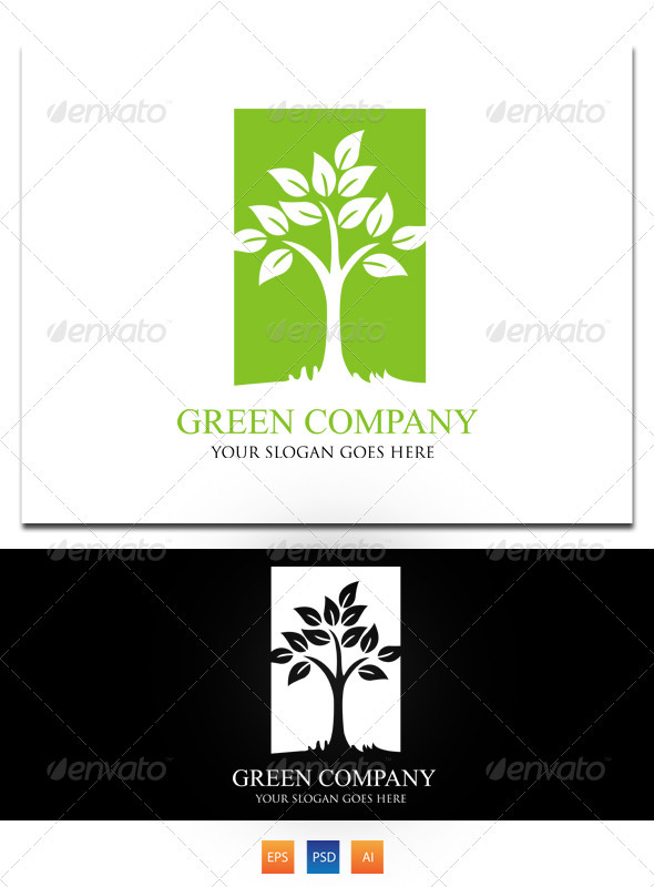 Green Company 2 - Nature Logo Templates