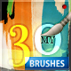My 30 lnk Banner Brush – Simple & Textured - GraphicRiver Item for Sale