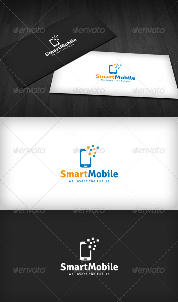 Smart Mobile Logo - Symbols Logo Templates