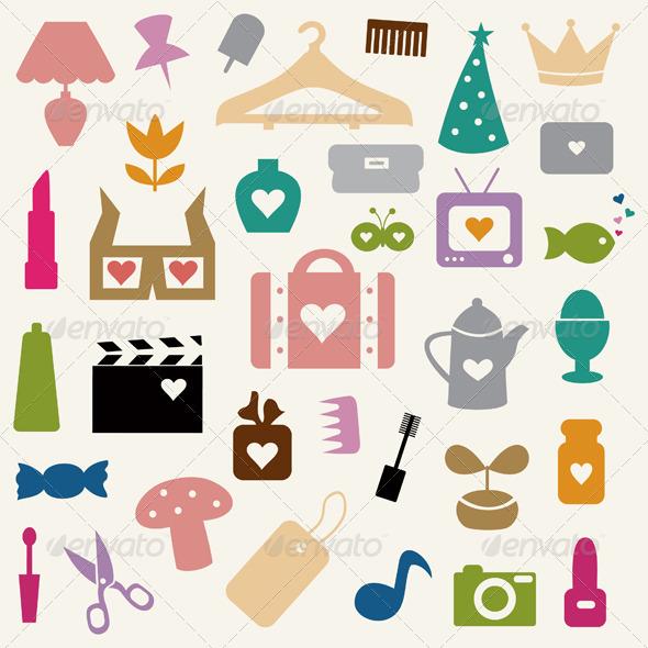 Collection love2 - Miscellaneous Vectors